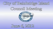 City Council Study Session: June 6, 2012